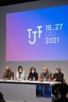 """Conferenza stampa di presentazione TJF2021 • <a style=""""font-size:0.8em;"""" href=""""http://www.flickr.com/photos/149799464@N05/51200059643/"""" target=""""_blank"""">View on Flickr</a>"""