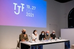 """Conferenza stampa di presentazione TJF2021 • <a style=""""font-size:0.8em;"""" href=""""http://www.flickr.com/photos/149799464@N05/51200912705/"""" target=""""_blank"""">View on Flickr</a>"""
