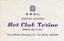 art 2 carta intestata dell'Hot club di Torino